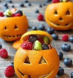 Healthy, fast and easy Halloween Snacks
